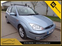 USED 2004 04 FORD FOCUS 1.8 GHIA TDCI 5d 116 BHP DIESEL ONLY 59,000 MILES 2 OWNERS FROM NEW PART EXCHANGE AVAILABLE / ALL CARDS / FINANCE AVAILABLE