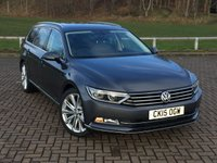 USED 2015 15 VOLKSWAGEN PASSAT 2.0 GT TDI BLUEMOTION TECHNOLOGY DSG 5d AUTO 188 BHP