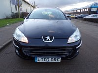 USED 2007 07 PEUGEOT 407 1.6 SW SE HDI 5d 108 BHP DIESEL ESTATE 1 OWNER PART EXCHANGE AVAILABLE / ALL CARDS / FINANCE AVAILABLE