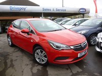 USED 2017 17 VAUXHALL ASTRA 1.0 TECH LINE ECOFLEX S/S 5d 104 BHP NEED FINANCE? WE CAN HELP!