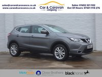 USED 2014 14 NISSAN QASHQAI 1.2 ACENTA DIG-T 5d 113 BHP Dealer History Bluetooth A/C Buy Now, Pay Later Finance!