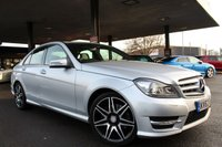 USED 2013 63 MERCEDES-BENZ C-CLASS 3.0 C350 CDI BLUEEFFICIENCY AMG SPORT PLUS 4d 262 BHP
