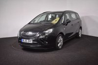 USED 2016 65 VAUXHALL ZAFIRA TOURER 1.4 EXCLUSIV 5d AUTO 138 BHP AUTOMATIC + 7 SEATER + LOW MILES