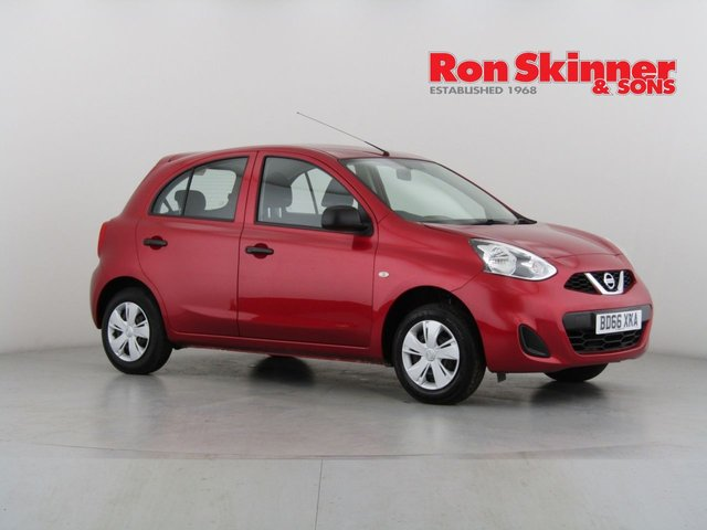 View our 2016 66 NISSAN MICRA 1.2 VISIA 5d 79 BHP