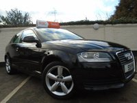 USED 2010 S AUDI A3 1.6 MPI TECHNIK 3d 101 BHP GUARANTEED TO BEAT ANY 'WE BUY ANY CAR' VALUATION ON YOUR PART EXCHANGE