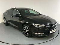 USED 2017 67 VAUXHALL INSIGNIA 1.6 GRAND SPORT ELITE NAV 5d AUTO 134 BHP FULL SERVICE HISTORY - ONE OWNER - SAT NAV - FULL LEATHER - PARKING SENSORS - BLUETOOTH - AIR CON