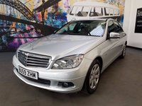 2009 MERCEDES-BENZ C-CLASS C180 KOMPRESSOR BLUEEFFICIENCY SE £5494.00