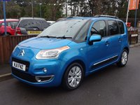2011 CITROEN C3 PICASSO 1.6 PICASSO EXCLUSIVE HDI 5dr, Full Service History £5295.00