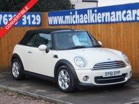 2011 MINI CONVERTIBLE 1.6 COOPER D 2d 112 BHP £6495.00