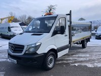 USED 2014 64 MERCEDES-BENZ SPRINTER 313 CDI 14ft DROPSIDE TAIL LIFT 130PS *14FT DROPSIDE WITH TAIL LIFT*