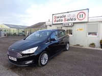 2015 FORD GRAND C-MAX 1.0 TITANIUM 5d 124 BHP 7 SEATER £11295.00
