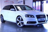 USED 2011 61 AUDI A3 2.0 SPORTBACK TDI S LINE SPECIAL EDITION 5d 138 BHP