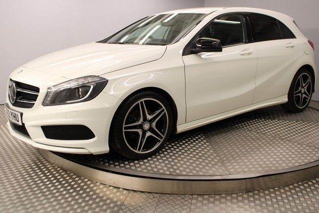 USED 2013 63 MERCEDES-BENZ A CLASS A200 CDI BLUEEFFICIENCY AMG SPORT 5d 136 BHP