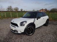 USED 2013 13 MINI COOPER 1.6 COOPER S ALL4 3d AUTO 184 BHP A SUPERB SPECIFICATION PACEMAN COOPER S IN EXCELLENT CONDITION