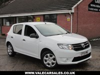 USED 2015 15 DACIA SANDERO 0.9 TCE AMBIANCE (1 OWNER FULL HISTORY) 5dr ONE OWNER FROM NEW + FULL DACIA HISTORY