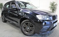 2011 BMW X3 2.0 XDRIVE20D M SPORT 5d 181 BHP £SOLD