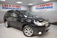 2014 MITSUBISHI OUTLANDER 2.0 PHEV GX 4H 5d AUTO 162 BHP £13999.00