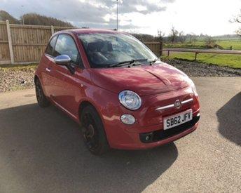 2013 FIAT 500 1.2 STREET 3d 69 BHP £4750.00