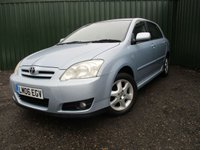 USED 2006 06 TOYOTA COROLLA 1.6 T3 COLOUR COLLECTION VVT-I 5d AUTO 109 BHP