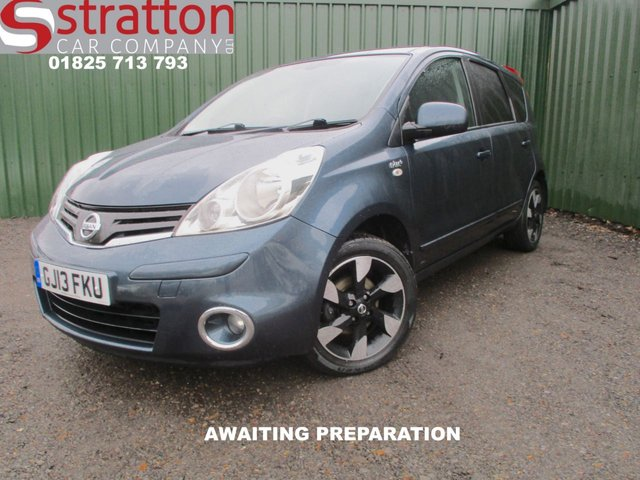 2013 13 NISSAN NOTE 1.4 N-TEC PLUS 5d 88 BHP