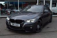 2016 BMW 3 SERIES 2.0 320D M SPORT 4d 188 BHP £18490.00