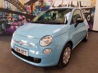 2014 FIAT 500 1.2 POP 3d 69 BHP £4694.00