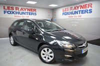 USED 2015 15 VAUXHALL ASTRA 1.6 DESIGN CDTI ECOFLEX S/S 5d 108 BHP Free Road Tax, Bluetooth, 1 Owner from new, cruise control
