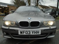 USED 2003 03 BMW 5 SERIES 2.9 530D SPORT TOURING 5d AUTO 191 BHP **GREAT VALUE + MOT FEB 2020