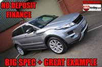 USED 2013 63 LAND ROVER RANGE ROVER EVOQUE 2.2 SD4 DYNAMIC LUX 5d AUTO 190 BHP + BIG SPEC NO DEPOSIT FINANCE + PAN ROOF + BIG SPEC