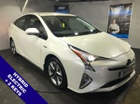 USED 2017 17 TOYOTA PRIUS 1.8 VVT-I BUSINESS EDITION PLUS 5d AUTO 97 BHP Bluetooth : Sat Nav   :   DAB Radio   :   Cloth upholstery   :   Toyota Head-Up Display   :    Toyota Intelligent Park Assist system     :     Fully stamped Toyota service history    :  Reversing camera plus front + rear parking sensors