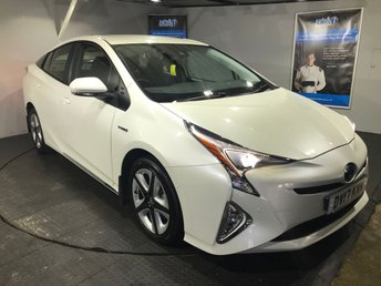 2017 TOYOTA PRIUS 1.8 VVT-I BUSINESS EDITION PLUS 5d AUTO 97 BHP £20999.00