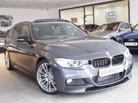 USED 2013 13 BMW 3 SERIES 3.0 330D M SPORT TOURING 5d AUTO 255 BHP M PERFROMANCE STYLING+PAN ROOF
