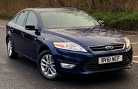 USED 2011 61 FORD MONDEO 2.0 ZETEC 5d 144 BHP Low Mileage