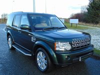 USED 2010 10 LAND ROVER DISCOVERY 3.0 4 TDV6 HSE 5d AUTO 245 BHP 1 OWNER, REAR DVD, LOGIC7