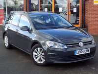 USED 2015 64 VOLKSWAGEN GOLF 1.6 TDi Bluemotion 5dr Estate ** Cruise + Bluetooth + DAB **