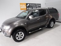 USED 2013 13 MITSUBISHI L200 2.5 DI-D 4X4 BARBARIAN LB DCB 1d 175 BHP GREAT 4 WHEEL DRIVE IN AMAZING CONDITION, GLEAMING METALIC GRAY  PAINT WORK, ONE OWNER, FULL DEALER SERVICE HISTORY  , FULL HEATED LEATHER,SAT NAV, SIDE STEPS HARDTOP CANOPY , DAB RADIO CD, ELEC WINDOWS ALL ROUND, CRUSE CONTROL,  ELEC FOLDING MIRRORS, AIR CON, REVERSE CAMERA BEEN VERY WELL LOOKED AFTER BY PREVIOUS OWNER FULLY SERVICED READY TO GO