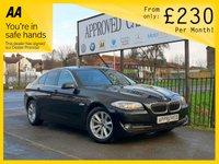 2012 BMW 5 SERIES 2.0 520D EFFICIENTDYNAMICS 4d 181 BHP £SOLD