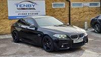 USED 2014 63 BMW 5 SERIES 2.0 520D M SPORT 4d AUTO 181 BHP