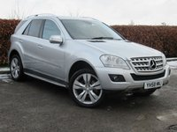 USED 2008 58 MERCEDES-BENZ M CLASS 3.0 ML320 CDI SPORT 5d AUTOMATIC * AUTOMATIC * SPORTS 4X4 *