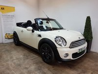 USED 2011 60 MINI CONVERTIBLE 1.6 ONE 2d 98 BHP SERVICE HISTORY