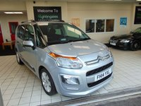 USED 2014 14 CITROEN C3 PICASSO 1.6 PICASSO EXCLUSIVE 5d 120 BHP LOW MILEAGE + FULL SERVICE HISTORY + BLUETOOTH + CRUISE CONTROL + CLIMATE CONTROL + ALLOYS + ELECTRIC WINDOWS + CD RADIO