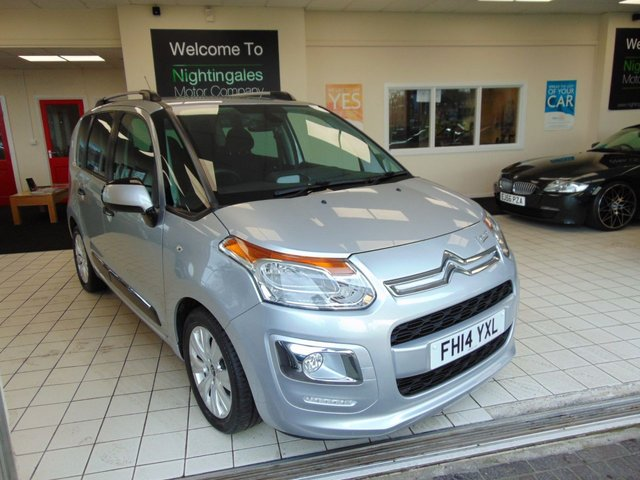 USED 2014 14 CITROEN C3 PICASSO 1.6 EXCLUSIVE 5d 120 BHP LOW MILEAGE + FULL SERVICE HISTORY + BLUETOOTH + CRUISE CONTROL + CLIMATE CONTROL + ALLOYS + ELECTRIC WINDOWS + CD RADIO