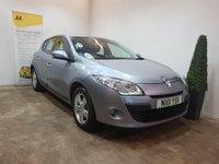USED 2011 11 RENAULT MEGANE 1.6 DYNAMIQUE TOMTOM VVT 5d 110 BHP SAT NAV AND AIRCON