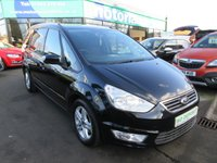 USED 2014 64 FORD GALAXY 2.0 ZETEC TDCI 5d 138 BHP **7 SEATER DIESEL JUST ARRIVED**