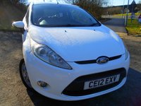 2012 FORD FIESTA 1.2 ZETEC 3d 81 BHP  ** ONE PREVIOUS OWNER , ALLOYS, 2 KEYS, YES ONLY 65K ** £5295.00