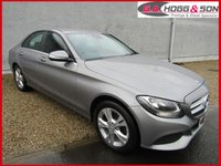 USED 2015 64 MERCEDES-BENZ C-CLASS 2.1 C220 CDI SE EXECUTIVE 4dr 170 BHP **HEATED SEATS AND SAT NAVIGATION**
