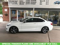 2014 BMW 2 SERIES 2.0 218D SPORT 2d 141 BHP £12495.00