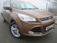 2013 FORD KUGA 2.0 TITANIUM X TDCI 5d AUTO 160 BHP £12250.00