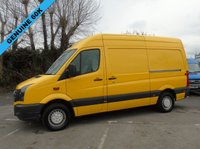 2013 VOLKSWAGEN CRAFTER 2.0 CR35 STARTLINE 135 BHP MWB PANEL VAN (WALK THROUGH) £8250.00