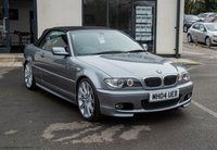 USED 2004 04 BMW 3 SERIES 3.0 330CI SPORT CONVERTIBLE 2d AUTO 228 BHP